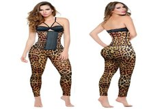 W2M Animal Print Leggings Leopard