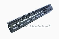 "12"" ULTRA Super Slim Keymod Rail One Piece handguard 223/556/300BLK"