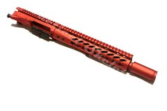 "10.5"" 223 Wylde Full Anodized RED Complete Upper"