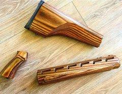 Ar-15/M16 Solid Wood Furniture Set Nutmeg Laminate Finished