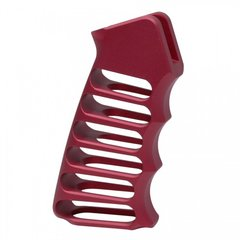 ULTRALIGHT SERIES SKELETONIZED ALUMINUM PISTOL GRIP (RED)
