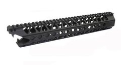 "16.5"" SHARK MOUTH FREE FLOAT HANDGUARD BLACK 223 556 300 BLK"