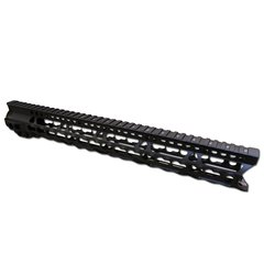 Extreme ULTRA Super Slim Keymod Rail One Piece handguard 223/556/300BLK