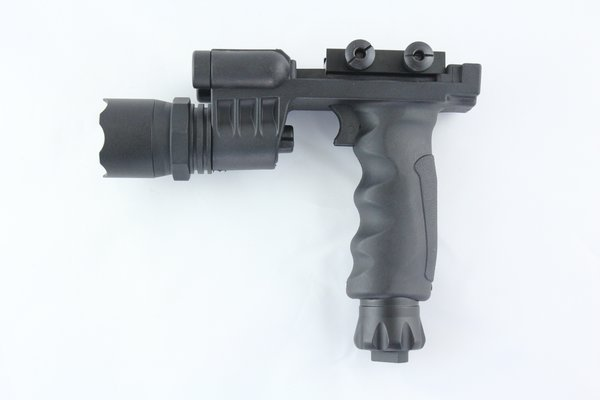 Rifle Vertical Foregrip Grip 500 Lumen Flashlight And