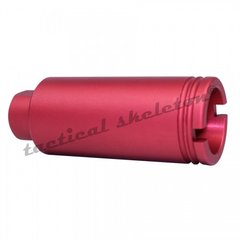 AR-15 1/2''X28 MUZZLE BRAKE RED CAN