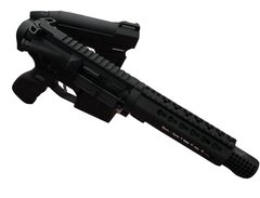 "7.5"" 223 WYLDE BLACKOUT TAKEDOWN AR15 PISTOL"