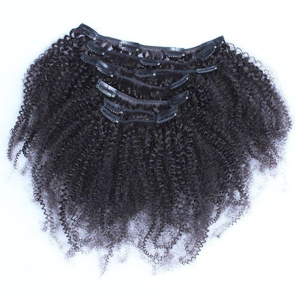 Kurlgenics 3c 4a Kinky Curly Hair Clip Ins Kinky Curly