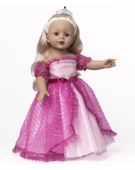 Pink Princess Wig Doll