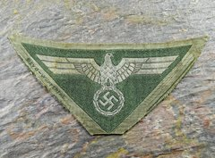 WWII GERMAN BEVO EM/NCO'S BREAST EAGLE