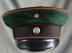 Imperial Saxon Fusilier Regiment 108 Prinz Georg.Visor Cap Circa 1860-1910
