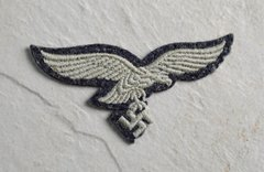 MACHINE EMBROIDERED SECOND PATTERN LUFTWAFFE EAGLE