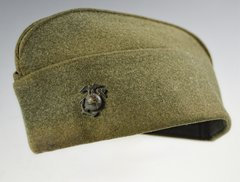 WWII U.S. MARINE CORPS ENLISTED MANS OVERSEAS CAP