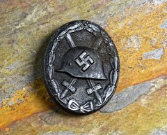 WWII GERMAN WOUND BADGE IN BLACK