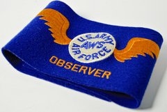 WWII US ARMY AIR CORPS AWS OBSERVER ARM BAND