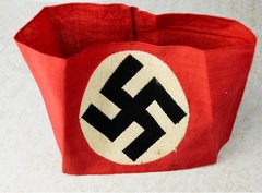 Unusual Embroidered NSDAP Members Armband