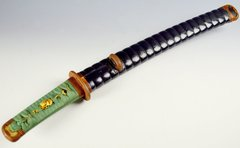 JAPANESE SWORD TANTO  IN KOSHIRAE RECENT POLISH HIRAZUKURI