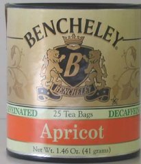 BENCHELEY DECAF APRICOT TEA