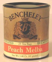 BENCHELEY DECAF PEACH MELBA TEA