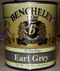 BENCHELEY EARL GREY TEA