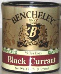BENCHELEY DECAF BLACK CURRANT TEA