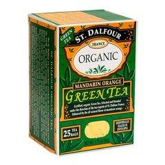 St Dalfour Mandarin Orange Organic Green Tea