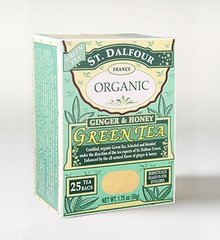 St Dalfour Ginger and Honey Organic Green Tea