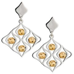 Frederic Duclos Lustrous Earrings