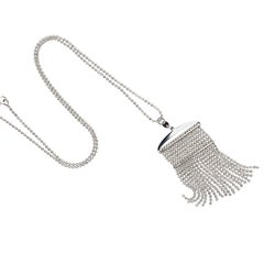 Duclos Top Bar Tassel Necklace