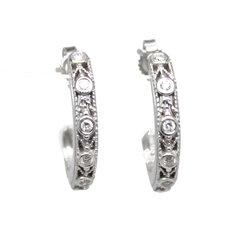 Miligrain Diamond Earrings