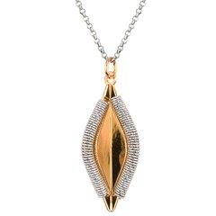 Duclos Wrapped Acorn Necklace