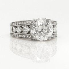Platinum and Diamond Mounting