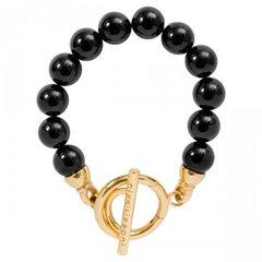 Nikki Lissoni Onyx Bead Bracelet