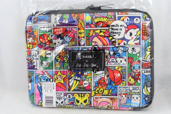 Ju-Ju-Be x Tokidoki Micro Tech Laptop Case in Super Toki - PLACEMENT D