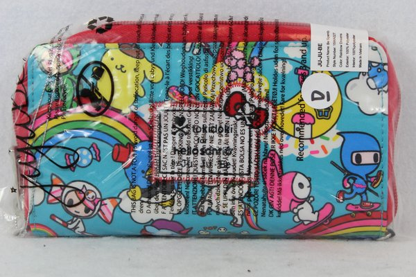 Ju-Ju-Be x Tokidoki Hello Kitty Be Spendy Wallet in Rainbow Dreams - PLACEMENT D Pompompurin My Melody