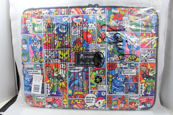 Ju-Ju-Be x Tokidoki Mega Tech Laptop Case in Super Toki PLACEMENT A