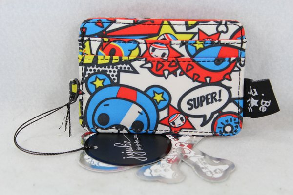 Ju-Ju-Be x Tokidoki Be Charged Card Holder in Sweet Victory Placement C