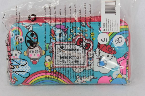 Ju-Ju-Be x Tokidoki Hello Kitty Be Spendy Wallet in Rainbow Dreams - PLACEMENT C