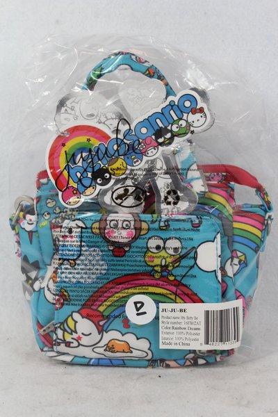 Ju-Ju-Be x tokidoki Hello Kitty Itty Bitty Be in Rainbow Dreams Placement D Keroppi Stellina