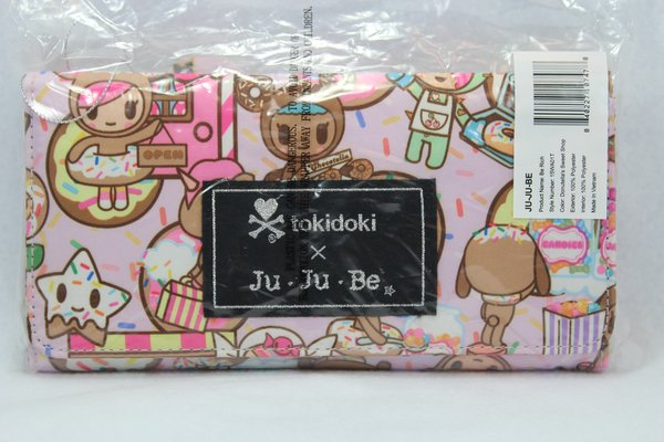 Ju-Ju-Be x Tokidoki Be Rich Wallet in Donutella's Sweet Shop - PLACEMENT G