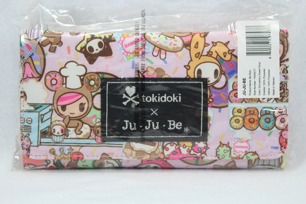 Ju-Ju-Be x Tokidoki Be Rich Wallet in Donutella's Sweet Shop - PLACEMENT H