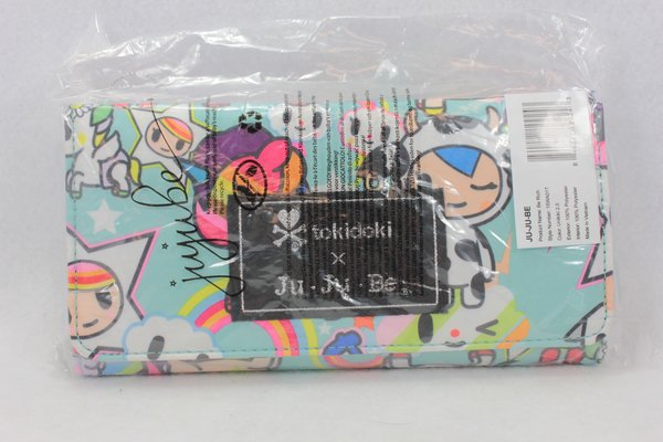 Ju-Ju-Be x Tokidoki Be Rich Wallet in Unikiki 2.0 PLACEMENT E