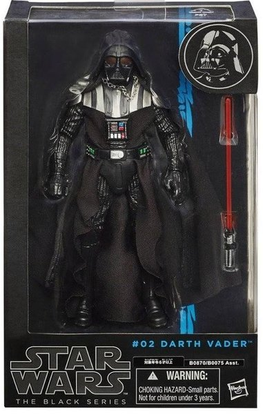 Hasbro Star Wars The Black Series Darth Vader 6-Inch Action Figure
