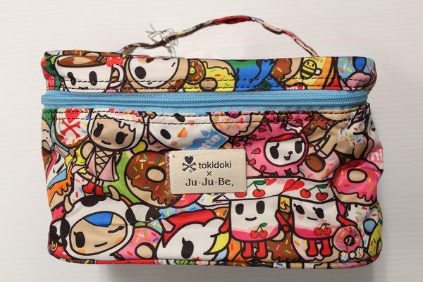 Ju-Ju-Be x Tokidoki Be Ready Makeup Bag in Tokipops PLACEMENT A Mozz Sandy