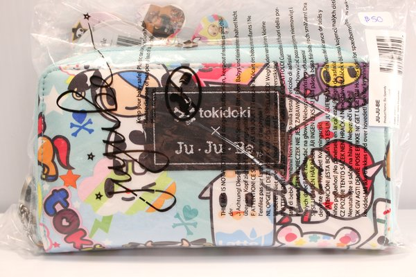 Ju-Ju-Be x Tokidoki Be Spendy Wallet in Unikiki 2.0 - PLACEMENT D