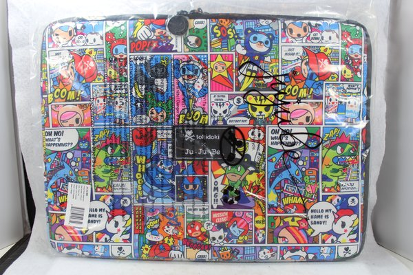 Ju-Ju-Be x Tokidoki Mega Tech Laptop Case in Super Toki PLACEMENT D