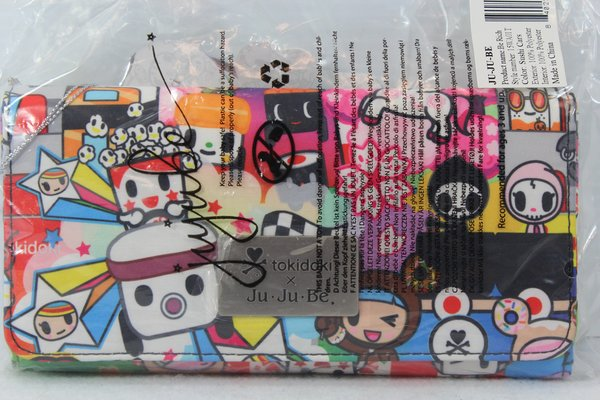 Ju-Ju-Be x Tokidoki Be Rich Wallet in Sushi Cars PLACEMENT A Adios Ciao Popcorn