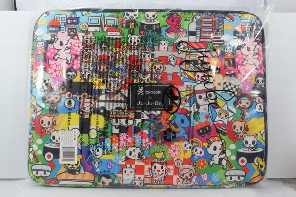 Ju-Ju-Be x Tokidoki Mega Tech Laptop Case in Sushi Cars PLACEMENT A