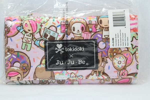 Ju-Ju-Be x Tokidoki Be Rich Wallet in Donutella's Sweet Shop - PLACEMENT A