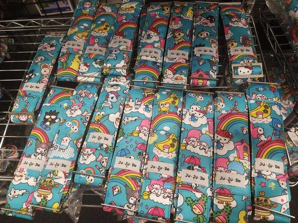Ju-Ju-Be x Tokidoki Hello Kitty Messenger Strap in Rainbow Dreams - Random