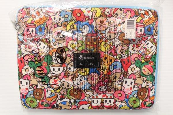 Ju-Ju-Be x Tokidoki Mega Tech Laptop Case in Tokipops PLACEMENT D Honey bear Donutella